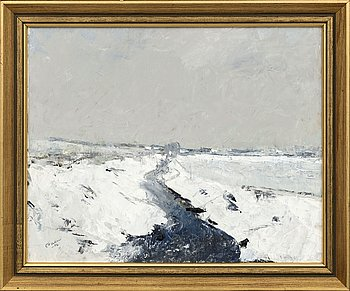 """ARNOLD """"NOLLE"""" SVENSSON, oil on canvas, signed and dated -02."""