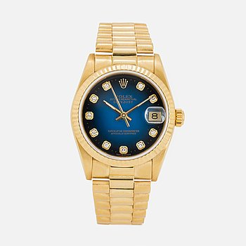 ROLEX, Oyster Perpetual, Datejust, Chronometer, wristwatch, 30 mm.