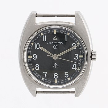 """HAMILTON, """"W10"""", wristwatch, 35,5 x 32,5 mm."""