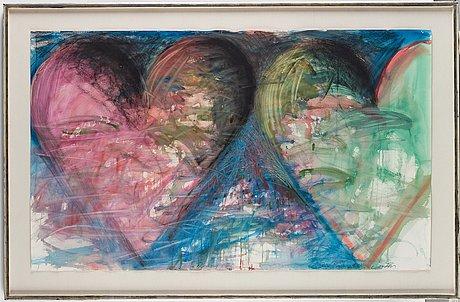 "Jim dine, ""untitled (hearts)""."