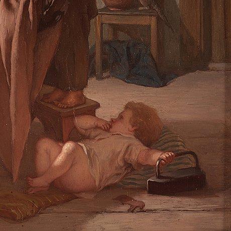 """August malmstrÖm, """"odygd (ordningens återställande)"""""""