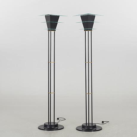up lights, ett par, sussie fischer 1989, atelje lyktan