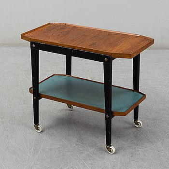 a 1940's serving trolley.