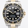 Rolex, oyster perpetual date, submariner (1000ft = 300 m), chronometer, armbandsur, 40 mm