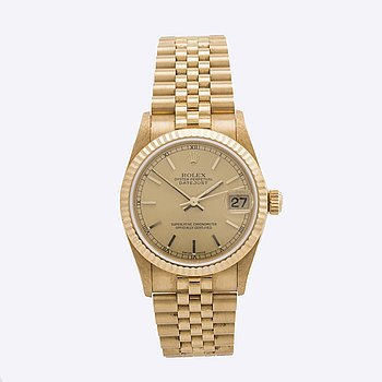 ROLEX, Oyster Perpetual, Datejust, Chronometer, armbandsur, 31 mm.