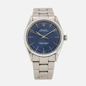 ROLEX, Oyster Perpetual (T Swiss T), Chronometer, wristwatch, 34 mm.