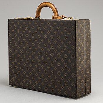 LOUIS VUITTON, a vintage 'President' monogram canvas briefcase.