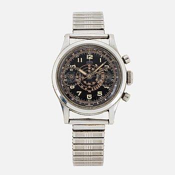 """PERFECTA, """"Telemetre"""", chronograph, wristwatch, 34 mm."""
