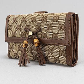 GUCCI, plånbok.