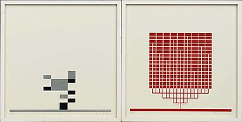 JACOB DAHLGREN, a pair of etchings signed and numbered 16/35 and 9/35.