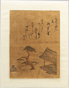 UTAGAWA TOYOHIRO (1763-1828), after, color woodblock print. Japan, 19th century.