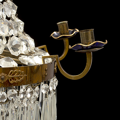A mid 20th century chandelier