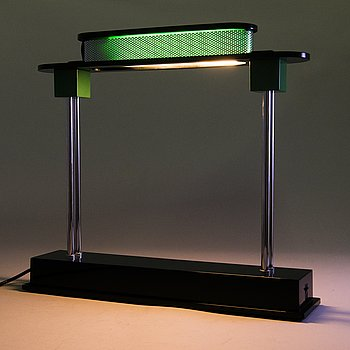 ETTORE SOTTSASS, a 'Pausania' table lamp for Artemide Italy, post 1983.