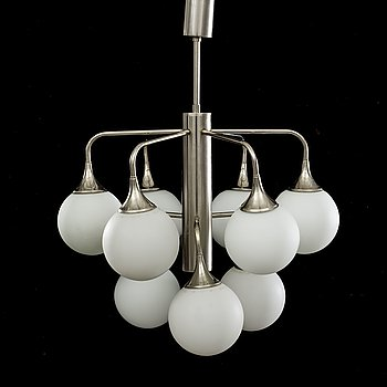 A CEILING LAMP FROM THE SECOND HALF OF 20TH CENTURY.