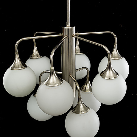 A ceiling lamp from the second half of 20th century