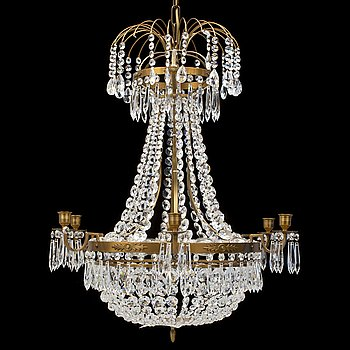 A later part of the 20th century chandelier.