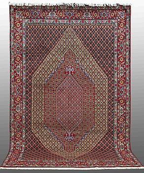 A carpet, Senneh, ca 312 x 200 cm.