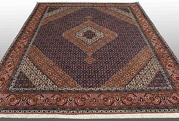 A carpet, Ardabil, ca 332 x 242 cm.