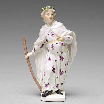 306. A Meissen Janus porcelain figure, 18th Century.
