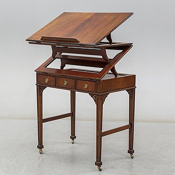 A drawing desk, 20th century.