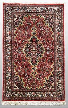 A rug, Silk Qum, 160 x 100 cm.
