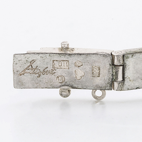 Stigbert armband silver m bergkristall