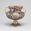 An early 10th century glass vase, probably haida, germany