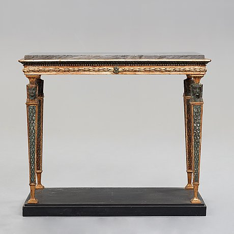 A late gustavian 1790's console table.