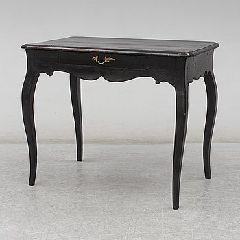 A Swedish Rococo table, second half of the 18th century.