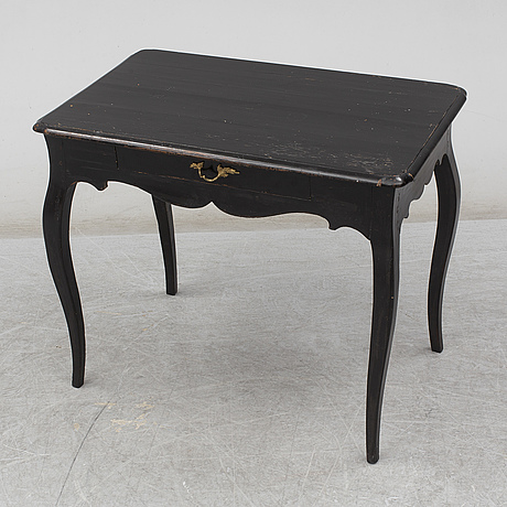 A swedish rococo table, second half of the 18th century