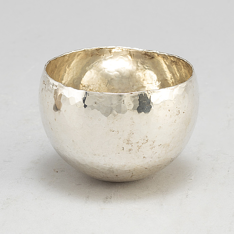 Rey urban, 6 sterling silver tumblers, stockholm 1970 1992