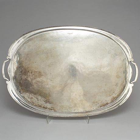 A silver tray, gothenburg 1936