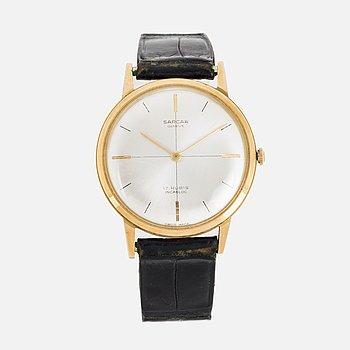 SARCAR, Genéve, wristwatch, 34 mm.