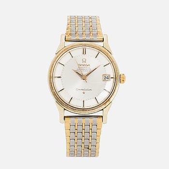 OMEGA, Constellation, Chronometer, wristwatch, 34 mm,
