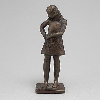 LISA LARSON, skulptur, brons, signerad och numrerad No 487.