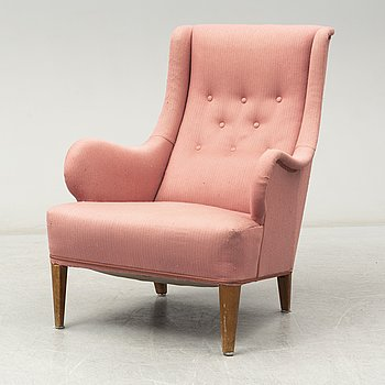 An 'Oscar' easy chair by Carl Malmsten.