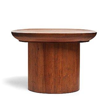 "307. Axel Einar Hjorth, a stained pine ""Utö"" table, Nordiska Kompaniet, Sweden 1930's."
