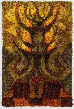 LILLI KOLLIN, A Finnish long pile rug for Neovius. Circa 165x108 cm.