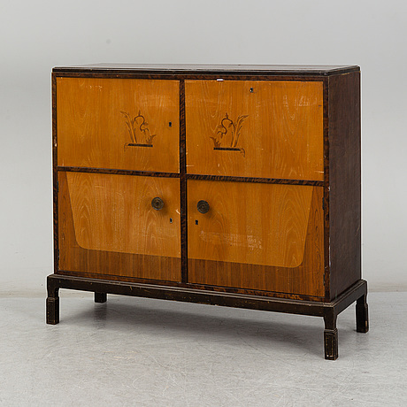 A 1930s cabinet by e. pettersson, gefle, sweden