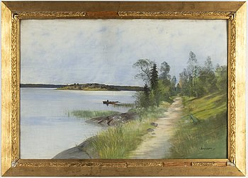CARL BRANDT, a pastel, signed and dated 98.
