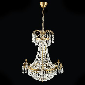 An end of the 20th Century chandelier.
