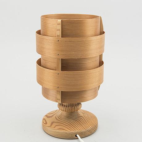 Hans agne jakobsson, a table lamp by elysett, sweden, model b 148, second half of 20th century,