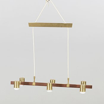 HANS BERGSTRÖM, a ceiling lamp model PS11/6 Ateljé Lyktan, Sweden mid 20th century.