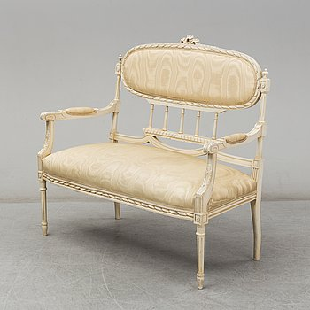 An early 20th Century Louis XVI-style sofa.