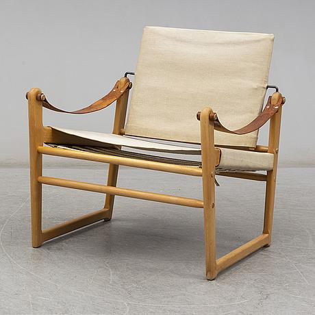 """A """"cikada"""" armchair by bengt ruda for ikea."""