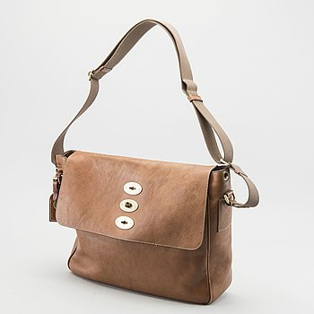 Mulberry Men's Brown Brynmore Leather Messenger Bag.