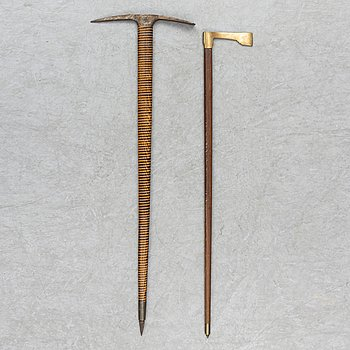 Two 19th century axes.
