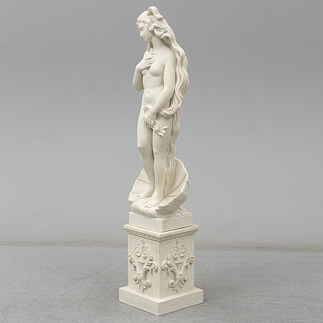Sandro botticelli, after. a reconstituted marble sculpture from kosmolux, italy