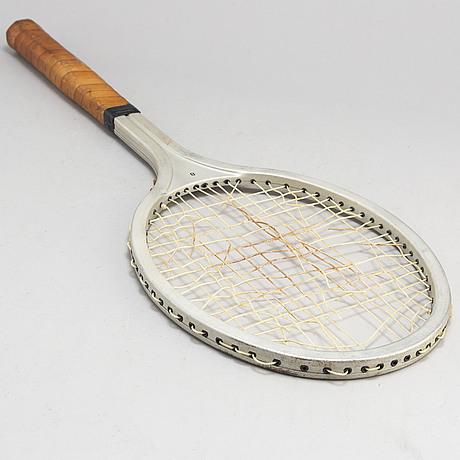 BjÖrn borg, a personal browning aluminum test tennisracket, 1978-79.