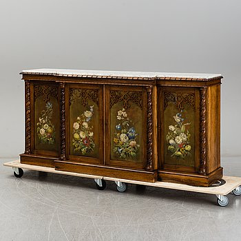 A second half of the 19th century sideboard.